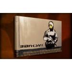Smilie Policeman - 38mm Deep Framed Canvas Print