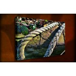 Old Rope - 38mm Deep Framed Canvas Print