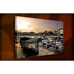 Marina - 38mm Deep Framed Canvas Print