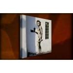 Fast food caveman - 38mm Deep Framed Canvas Print