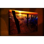 Low Tide - 38mm Deep Framed Canvas Print