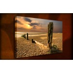 Last Rays - 38mm Deep Framed Canvas Print