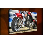 Harley Davidson - 38mm Deep Framed Canvas Print