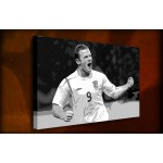 Wayne Rooney - 38mm Deep Framed Canvas Print