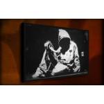 Street Hoodie - 38mm Deep Framed Canvas Print