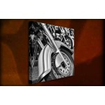 Motorcycles - 38mm Deep Framed Canvas Print