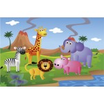 Animal Safari - 38mm Deep Framed Canvas Print